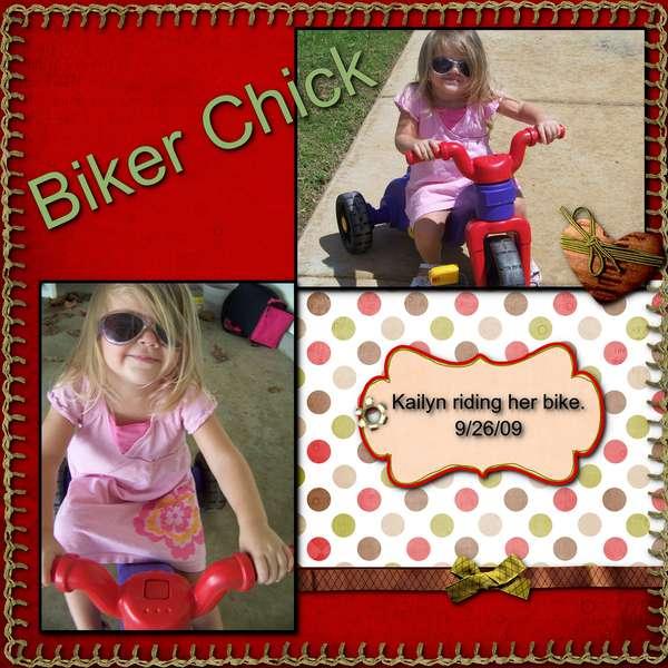 Biker Chick- redo