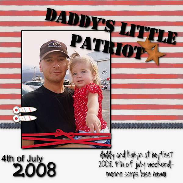 Daddys Little Patriot- refo