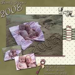 Family Photos 2008
