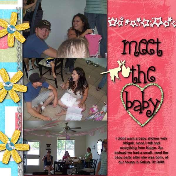 Meet The Baby