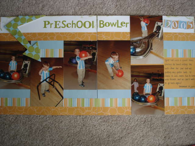 Preschool Bowler