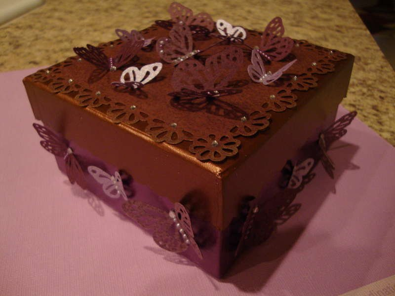 butterfly box.