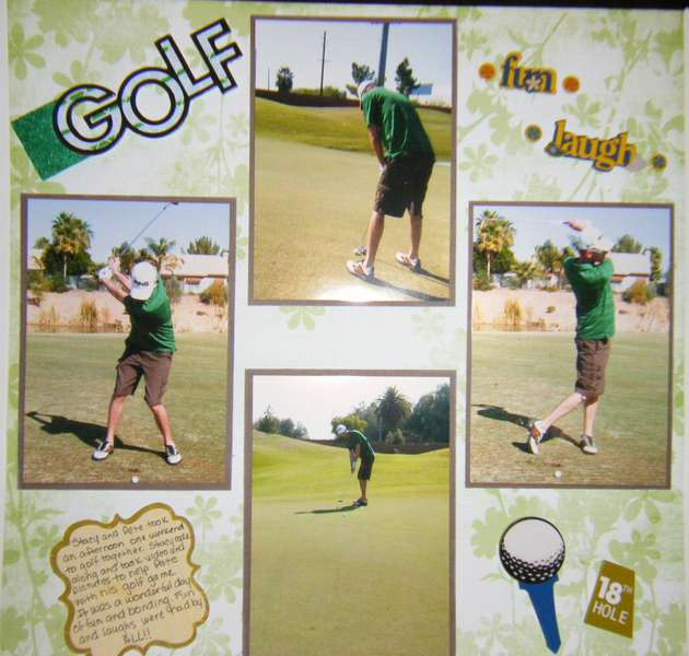 Golfing With Pete
