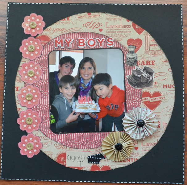 My Boys in my B-Day