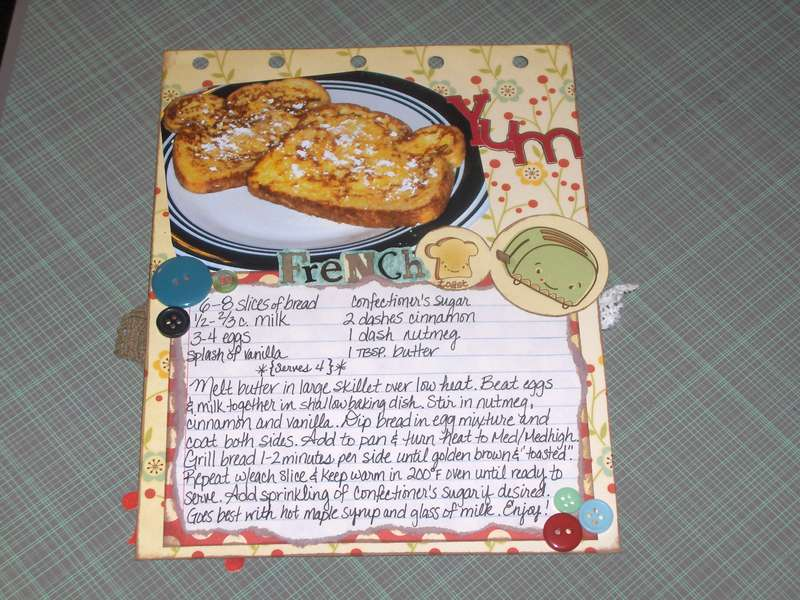 CC Recipe Flip-Book Pg. 3 COMPLETE w/Photo!