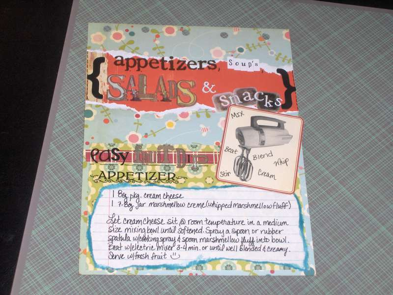 CC Recipe Flip-Book Pg. 5: Appetizers, Soups, Salads & Snacks