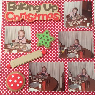 Baking up Christmas