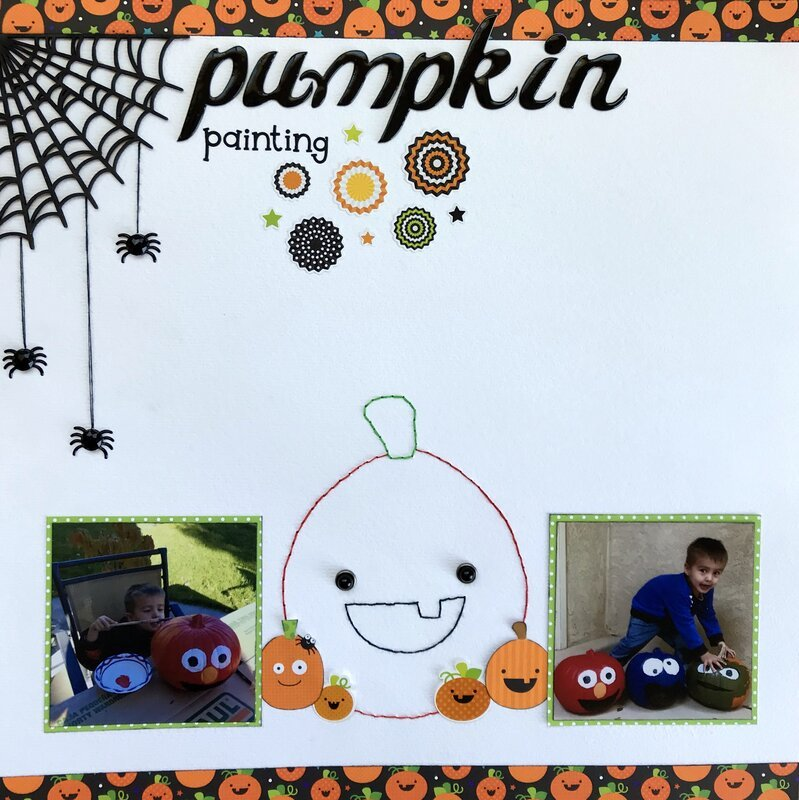 Pumpkin Painting 2017