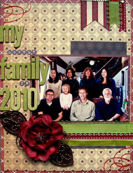 My Lovely Family in 2010