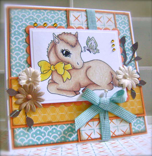 Lilly Filly *Whimsy Stamps*