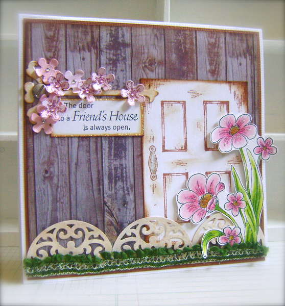 A Friend's House *Heartfelt Creations*