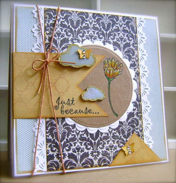 Just Because *Crafter's Companion April Guest DT*