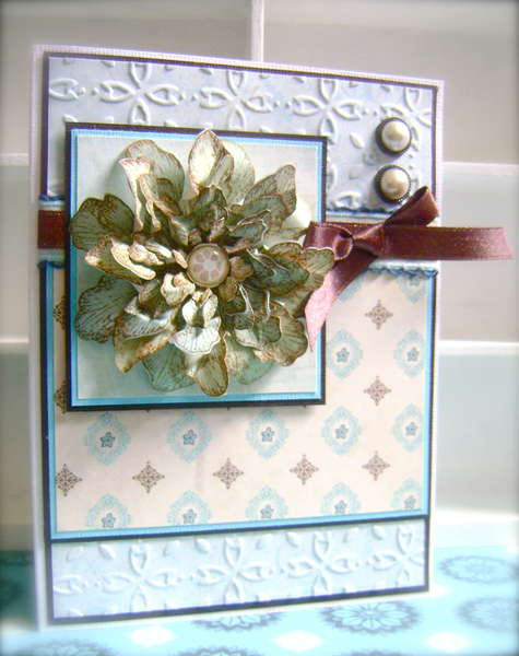 Tattered Blossom *Heartfelt Creations*