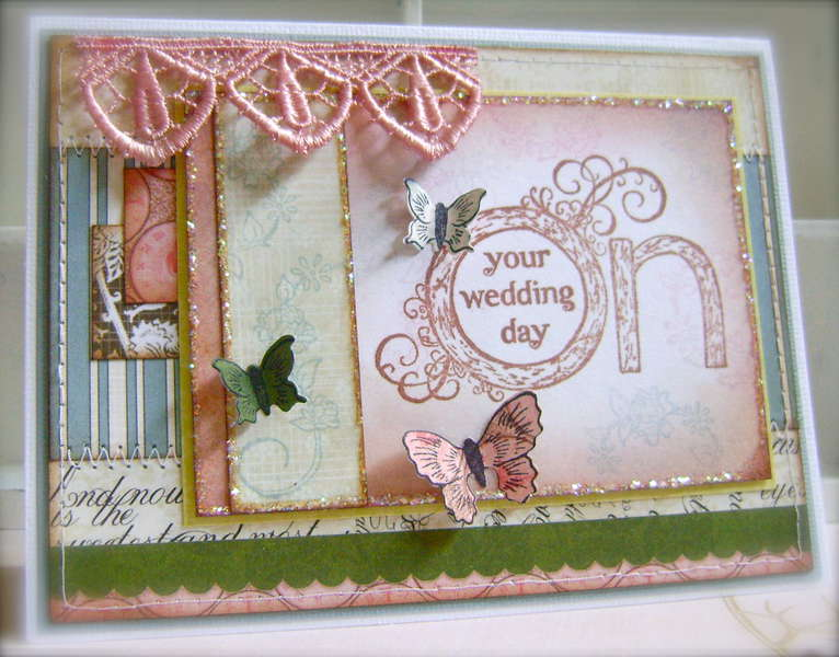 on your wedding day *heartfelt creations*