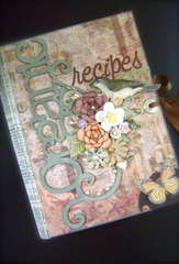 Recipe Album *Scrap That! July Kit*