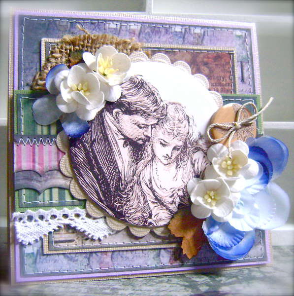 Wedding Card *Scrap That! July Kit*