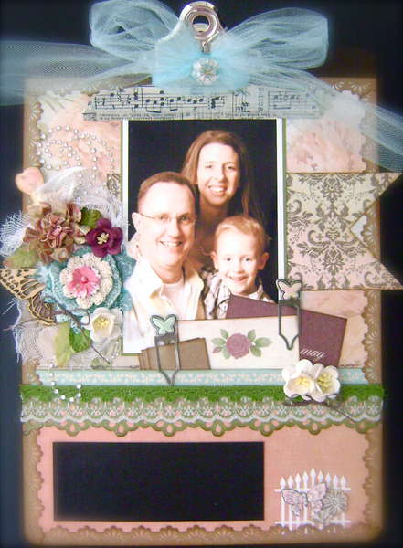 Altered Clipboard *ScrapThat! August Kit*