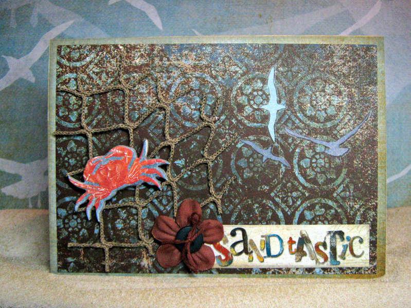 Bo Bunny Paradise Card