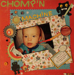 Chomp'n Machine - 1st Tooth