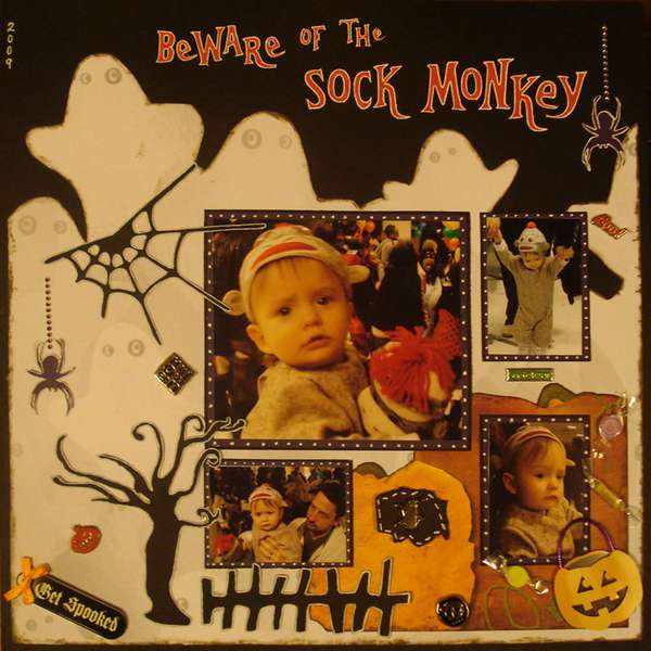 Beware of the Sock Monkey - Halloween 2009