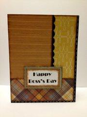 Happy Boss's Day card