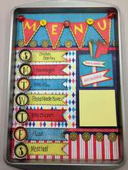 Magnetic Menu Board ***MOXXIE***