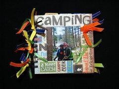 Camping Mini Album