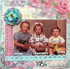 1954...Helen,Margaret,Ian