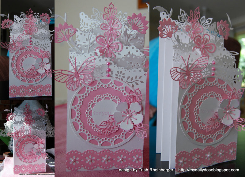 Double Zig zag or trifold card