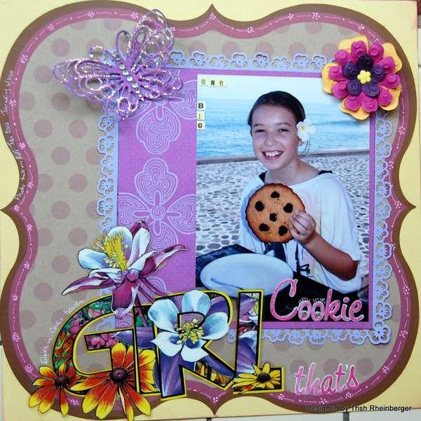 Girl,thats one big cookie