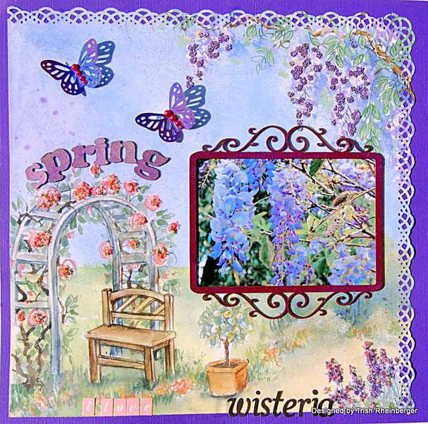 Spring Wisteria