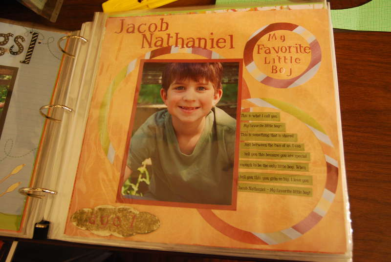 Jacob Nathaniel: My favorite little boy