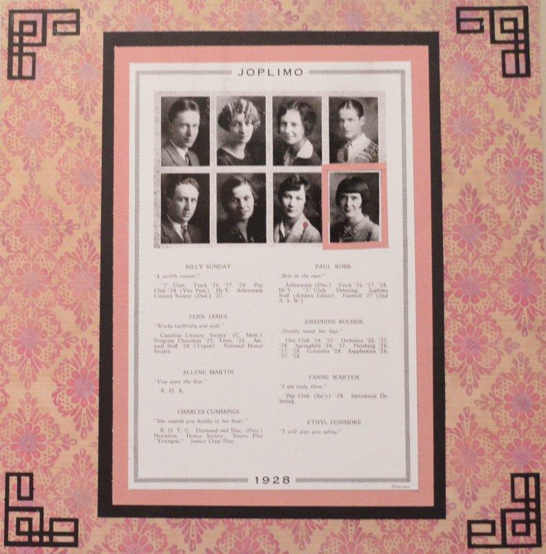 1928 High School Year Book