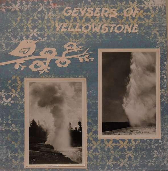 Geysers of Yellowstone
