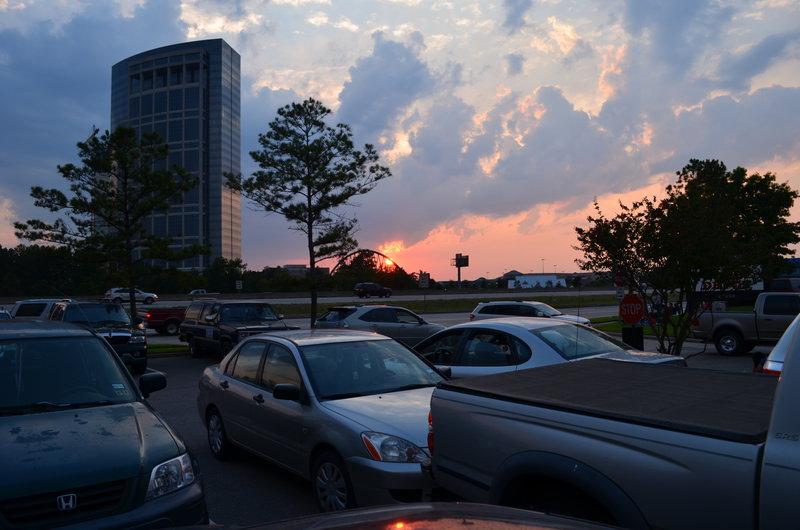 Sunset, July 4, 2013 - July POD #2
