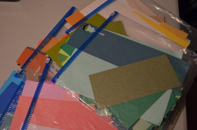 Scrap Card Stock Storage