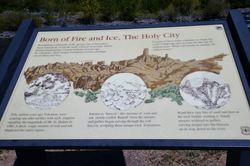 """Holy City"" Explanation of Formation"