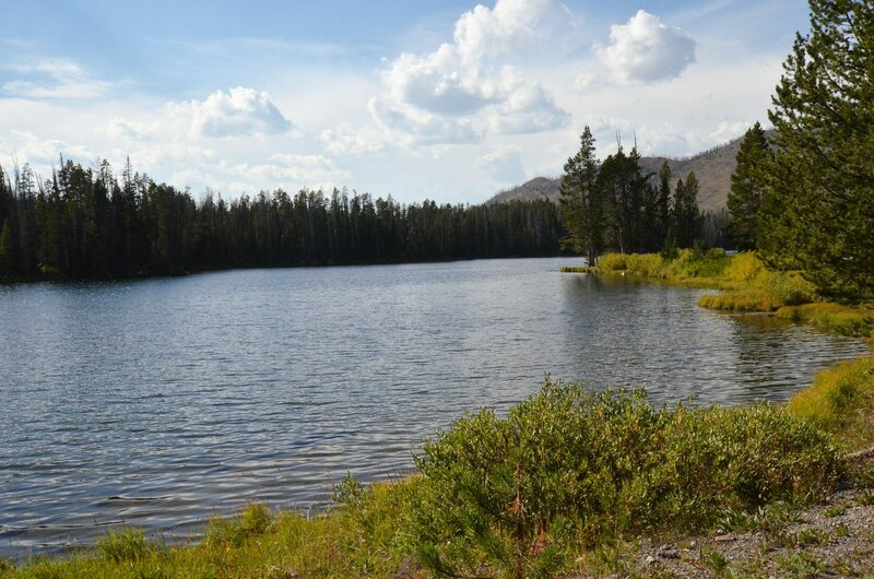 Sylvan Lake, Yellowstone