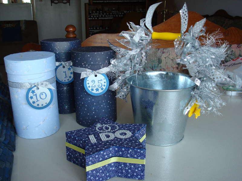 Time capsules, ring bearer box, flower girl bucket