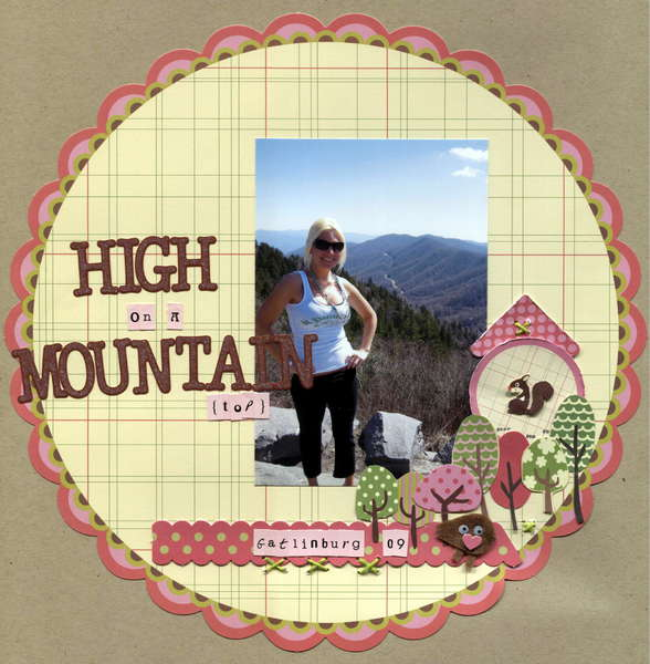 High On A Mountain(top)