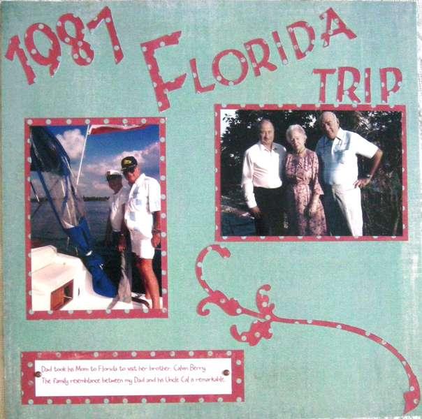 1987 Florida Trip