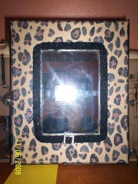 Leopard Mirror