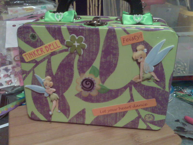Scrapped/Decoupage Lunch Box