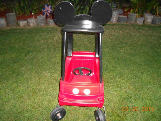 Front View of Mickey Coupe