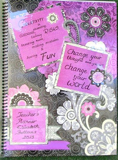 Teacher's planner Front Page