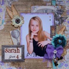 Sarah Grade 4