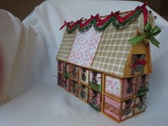 Finally! My Advent house is done
