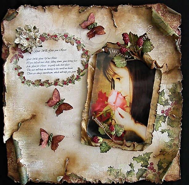 God Will Give you Roses *** Swirlydoos December Kit *** Guest Designer