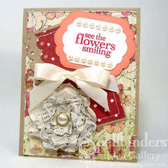 See the Flowers Smiling Card by Debbie Seyer