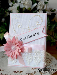 Celebrate by Christina Griffiths for Spellbinders